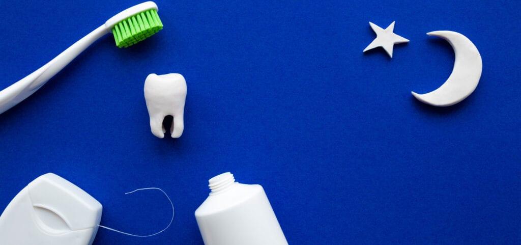 Night time Dental Routine