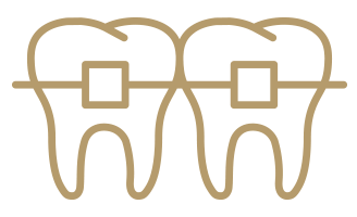 Orthodontic Care icon gold